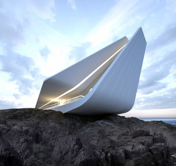 Architecture futuriste concept 37 for Architecture futuriste